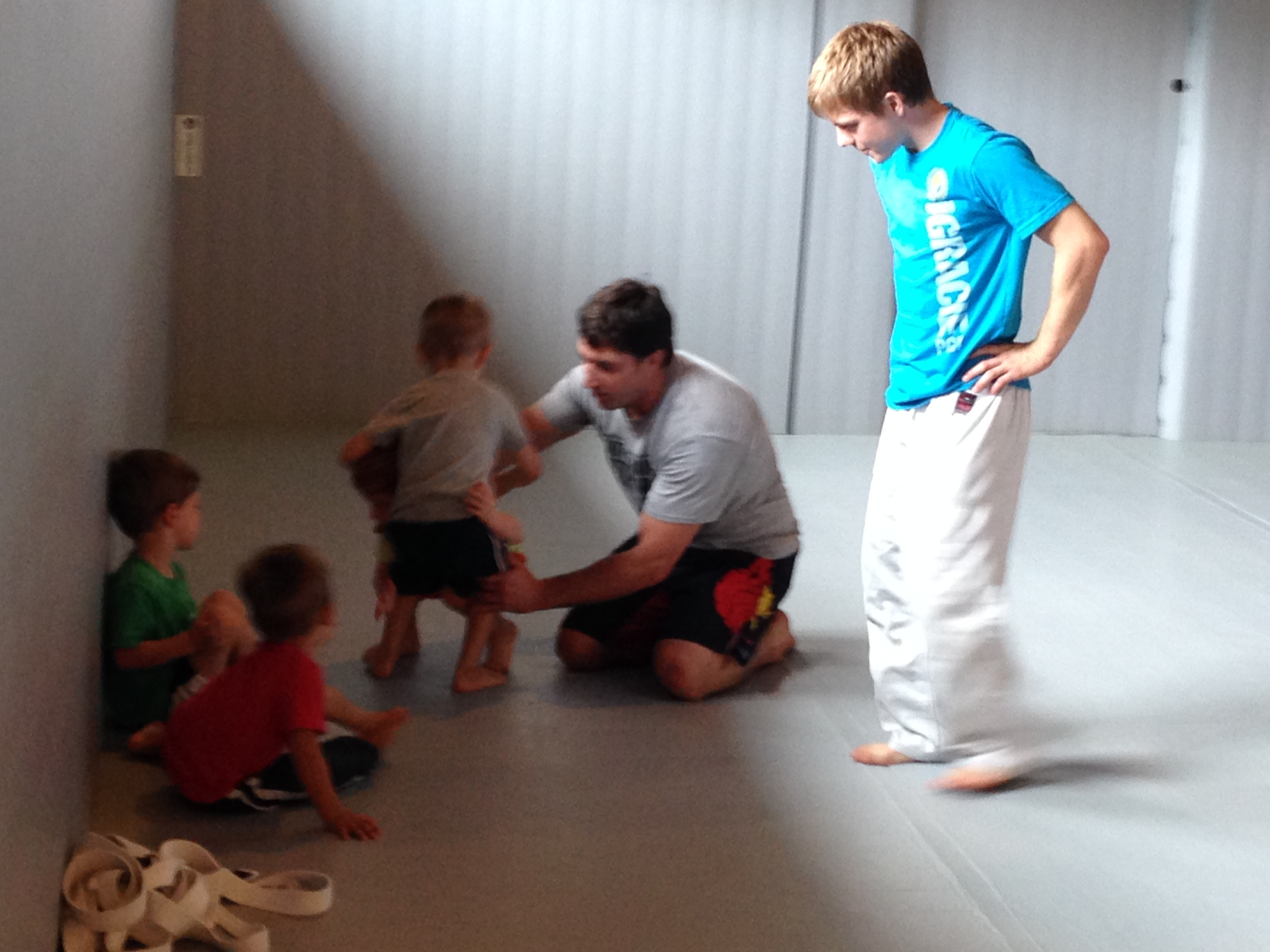 3 Year Olds Practicing Jiu Jitsu And Having Fun In Our Summer Course The Strip